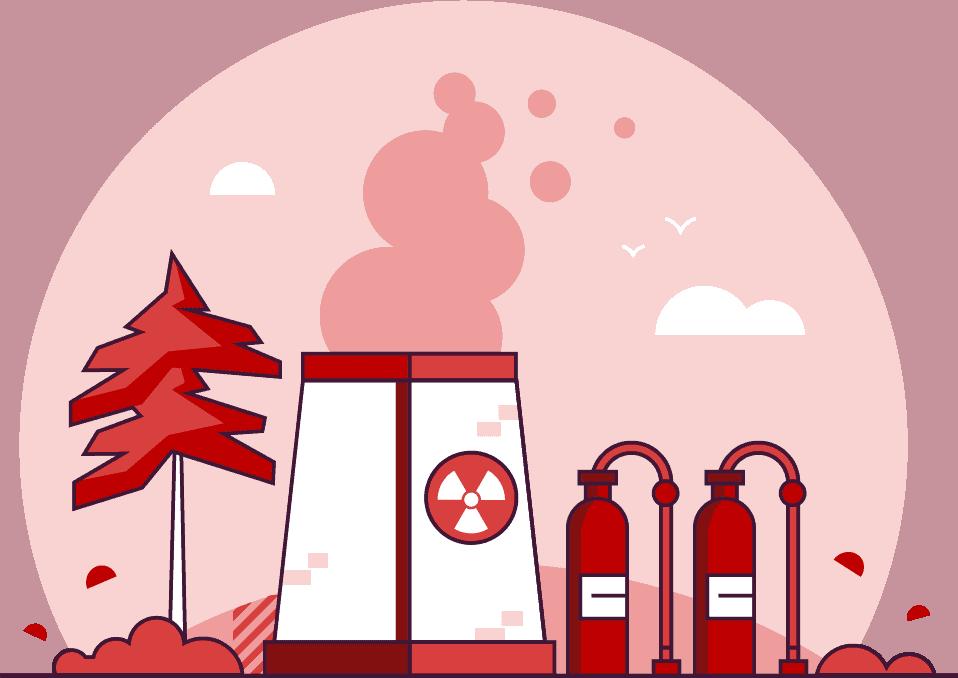 powerplant illustration