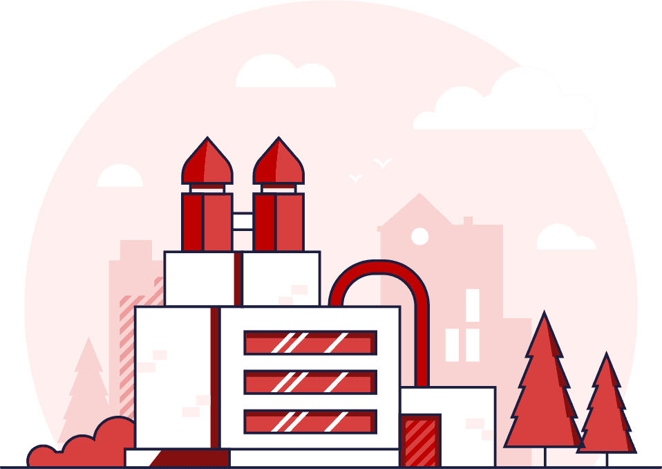 industrial manufacturing illustration