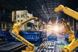 mechanical automation in warehouse